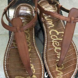NWT Sam Edelman Gigi Sandals- saddle brown